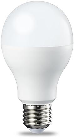 AmazonBasics Bombilla LED Esférica E27, 14W (equivalente a 100W), Blanco Frío - 2 unidades: Amazon.es: Iluminación