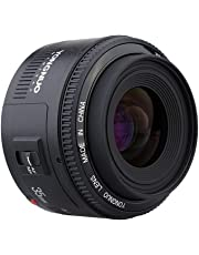 Yongnuo YN 35 mm Lente F2 1:2 AF/MF Gran Angular Fijo/Prime Enfoque automático, Lente para Canon EF Montaje EOS