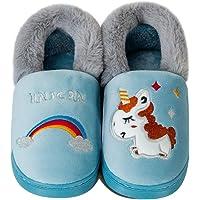 Zapatillas de Estar por Casa para Niños Niñas Invierno Zapatillas Interior Casa Caliente Pantuflas Lindas Zapatillas De…