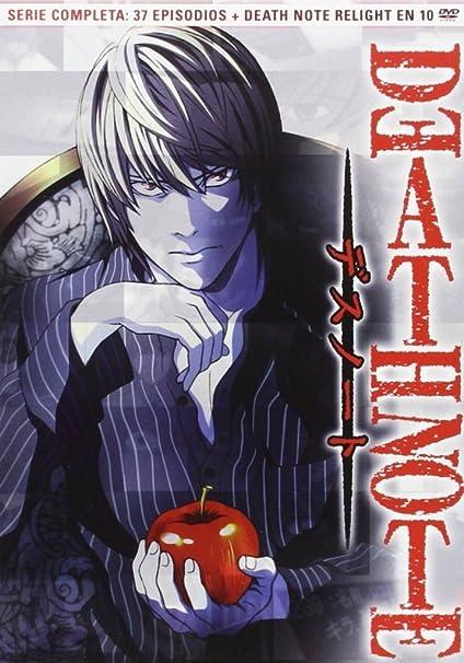 Death Note [DVD]: Amazon.es: Animación, Tetsuro Araki, Animación: Cine y Series TV