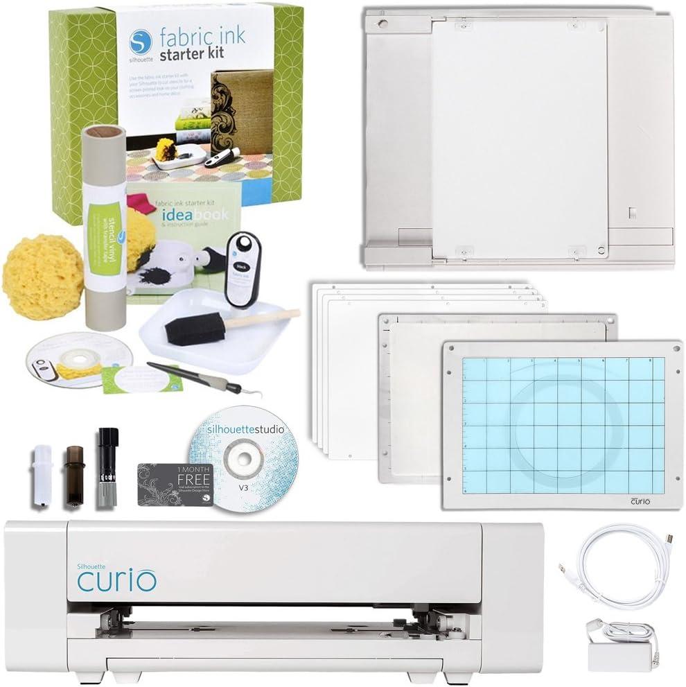 Silhouette Curio - Máquina de manualidades digital con kit de ...