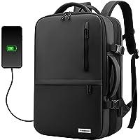 Redlemon Mochila para Laptop Expandible Antirrobo con Puerto USB para Power Bank (no incluido), Tamaño Extra Grande, 3…