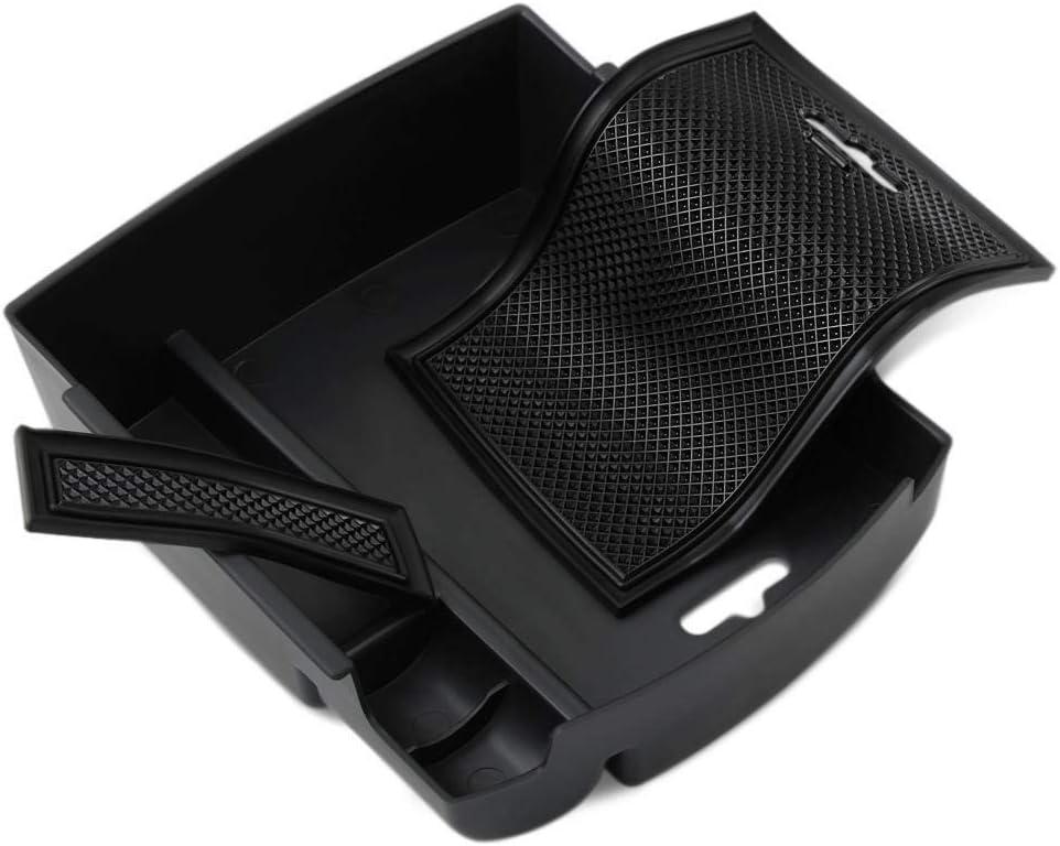 Color : Black 2pcs Accoudoir Bo/îte De Rangement 2pcs Set voiture ABS Accoudoirs Container Porte Bo/îte de rangement poign/ée bo/îtes cas for Ford Focus MK4 2019 Accessorie int/érieur