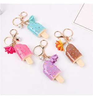 Jewelry Keychain Animal Series Puppy Swan Unicorn Owl Lady Keychain Gift Bag Pendant Car Keyring