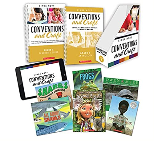 Conventions and Craft, Grade 2: A Full Year of Literature-Based Micro-Workshops to Build Essential Understandings for Grammar, Sentence Structure & Word Study