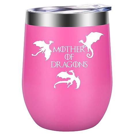 Amazon.com: Regalo divertido para madre de dragones – regalo ...