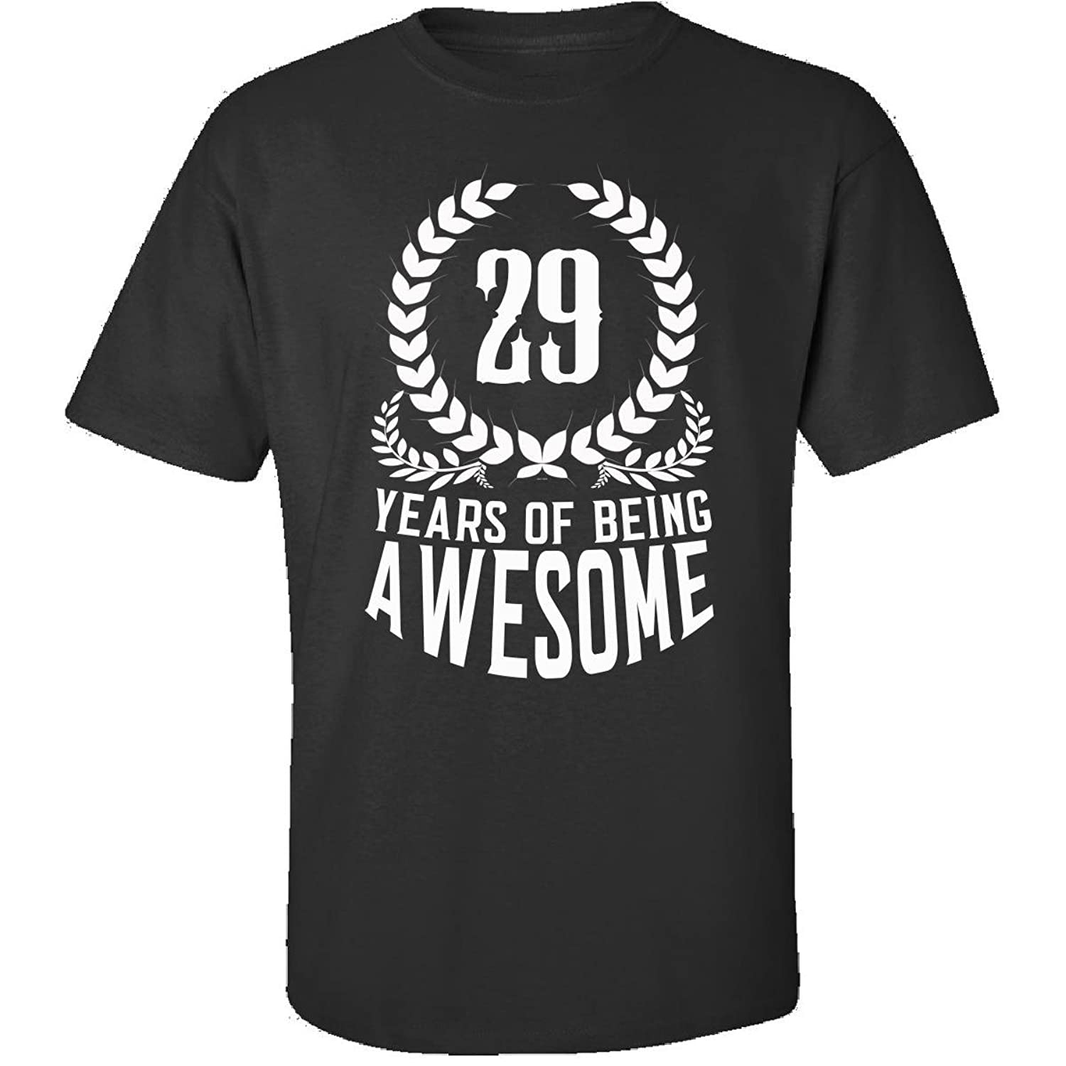 29th Birthday Gift For Men Woman 29 Years Of Being Awesome - Adult Shirt