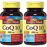 Nature Made Coq10 200 Mg, Naturally Orange,Value Size, 2 Pack (80 Each)
