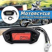 Velocímetro de la Motocicleta, Universal LCD Digital Velocímetro