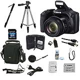 Câmera Canon Powershot SX520HS c/ SD 8GB + Super Kit de Acessórios