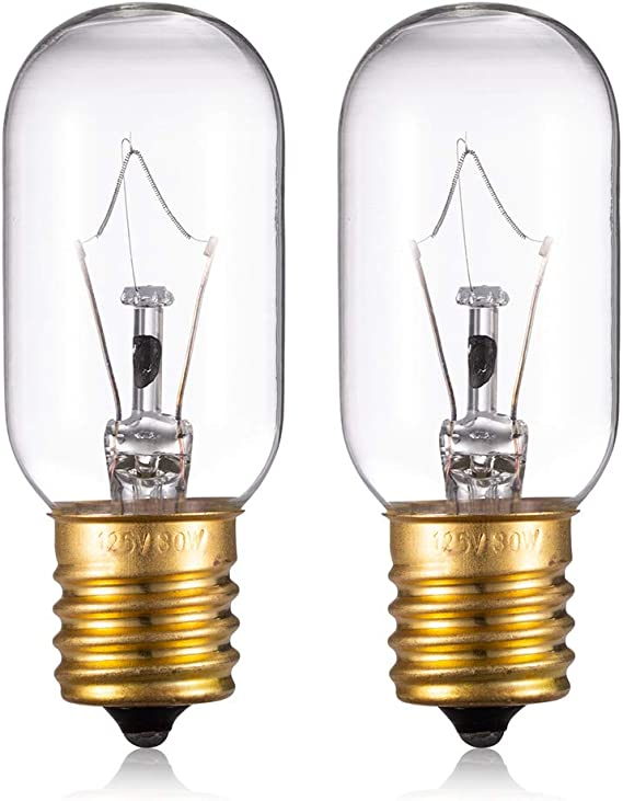 Light Bulb for LG Microwave Oven - Microwave Light Bulb Lamp for LG Frigidaire Kenmore Whirlpool GE Over the Range Microwave