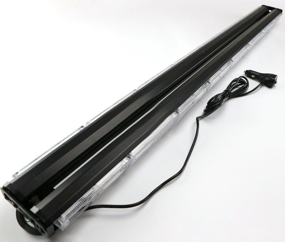 HEHEMM Feux davertissement et stroboscopiques Rampe de toit double face avec LED /à technologie COB