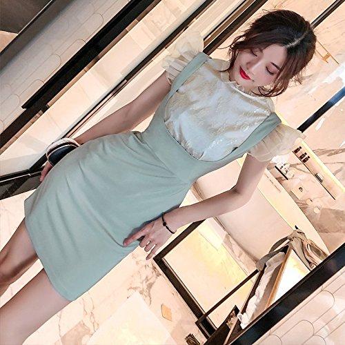 Sexy Robe Vert S Sac Body Jupe Menthe Jupe Robes MiGMV Robe Hip Jupe nTpgSF