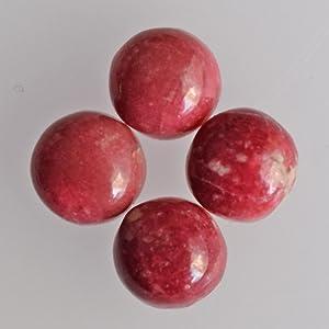 Rare Natural Norwegian Thulite Gemstone,Grade A Thulite Cab,Natural Thulite Loose Gemstone,Excellent Quality Pink Thulite Gemstone Necklace
