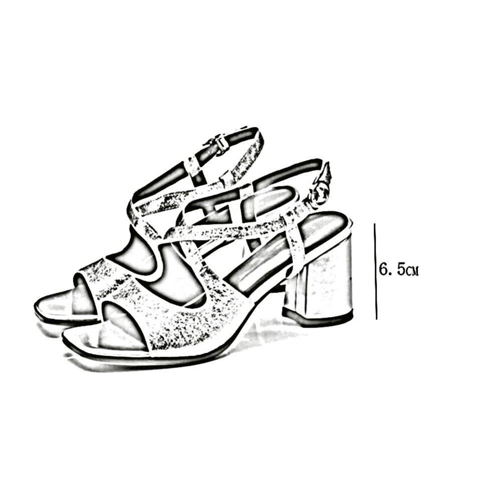 ZHWEI Pumps Pumps Pumps D56-118 Frühling und Sommer Sandalen (Absatzhöhe 6,5 cm) Silberne Farbe Rosa 6daa10