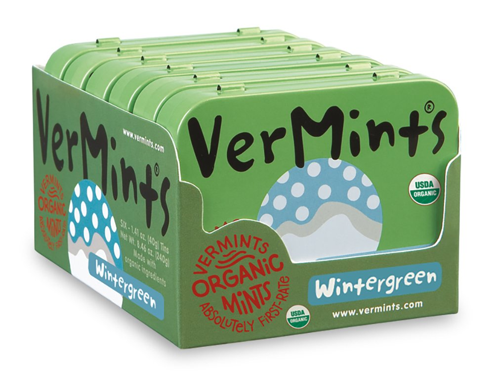 free invitation templates for going away party%0A Amazon com   VerMints Organic Wintergreen Mints      oz Tins  Pack of       Candy Mints   Grocery  u     Gourmet Food
