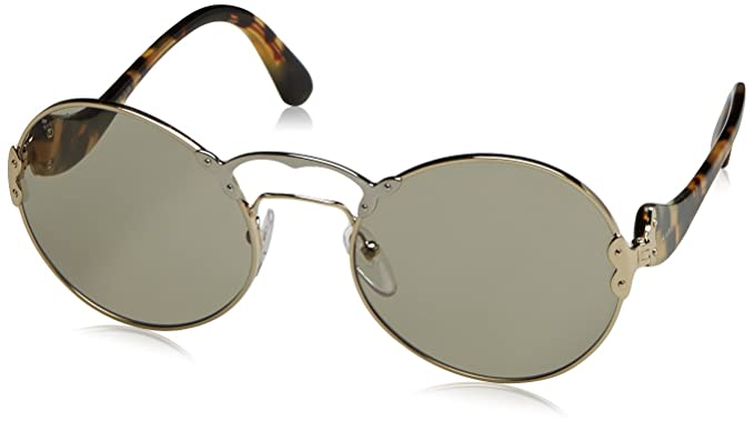 Prada Mujer 0PR55TS ZVN5J2 57 Gafas de sol, Dorado (Pale ...