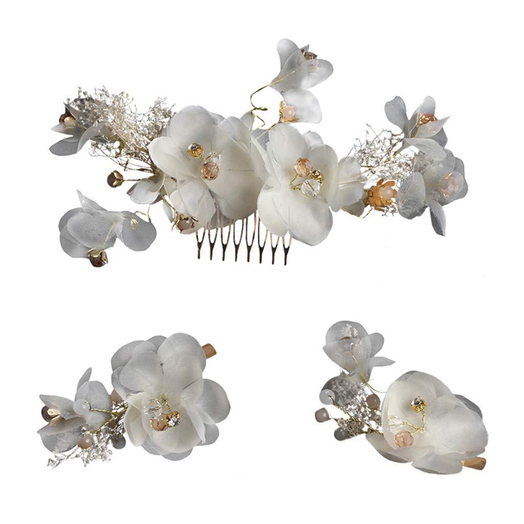 Wreath Flower Bride Hair Flower Head Flower Accessories Headband Hair Band Eternal Flower Headwear Seaside