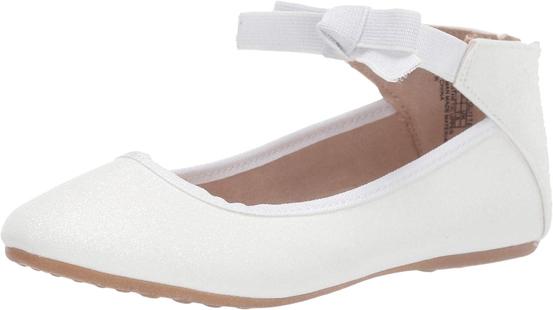 Black Cute Zip Dress Kids Ballet Flats Girls Flats Youth Casual Shoes Size 9