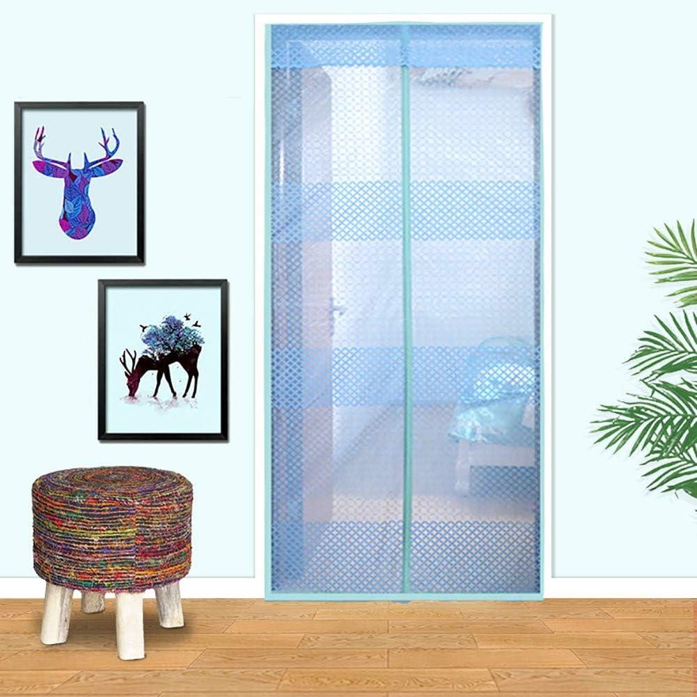 Xinyouluu - Cortina de Puerta de Nailon, mágica de Magia, muñeco de cifrado de Verano antimosquitos, 95 * 210CM: Amazon.es: Hogar