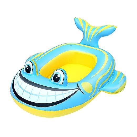 Bestway barco hinchable en forma de pez para bebé rana ...