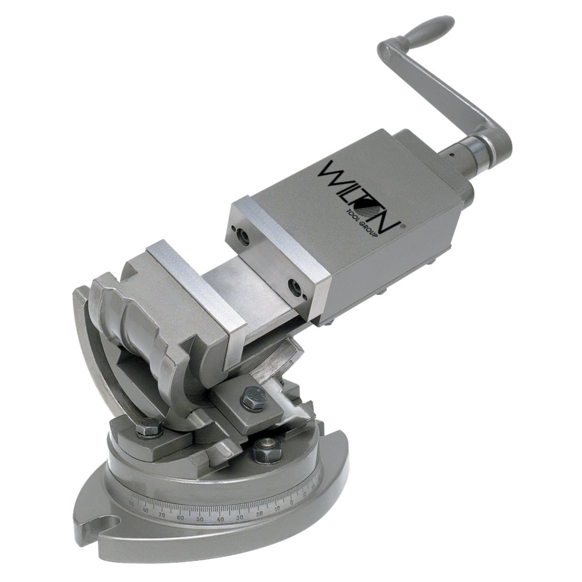 Wilton 11803 3-Axis Precision Tilting Vise 5-Inch Jaw Width, 1-3/4-Inch Depth by Wilton