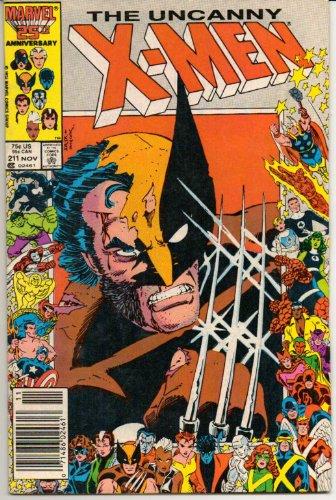 John Romita Cover (Uncanny X-Men #211)