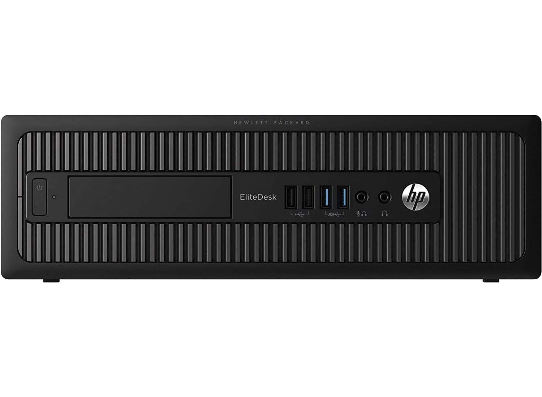 HP EliteDesk 800 G1 Desktop Mini Business PC Intel Quad-Core i5-4590s 8GB RAM 500GB HDD Windows 10 Pro 64-Bit WiFi 3.0GHz Renewed