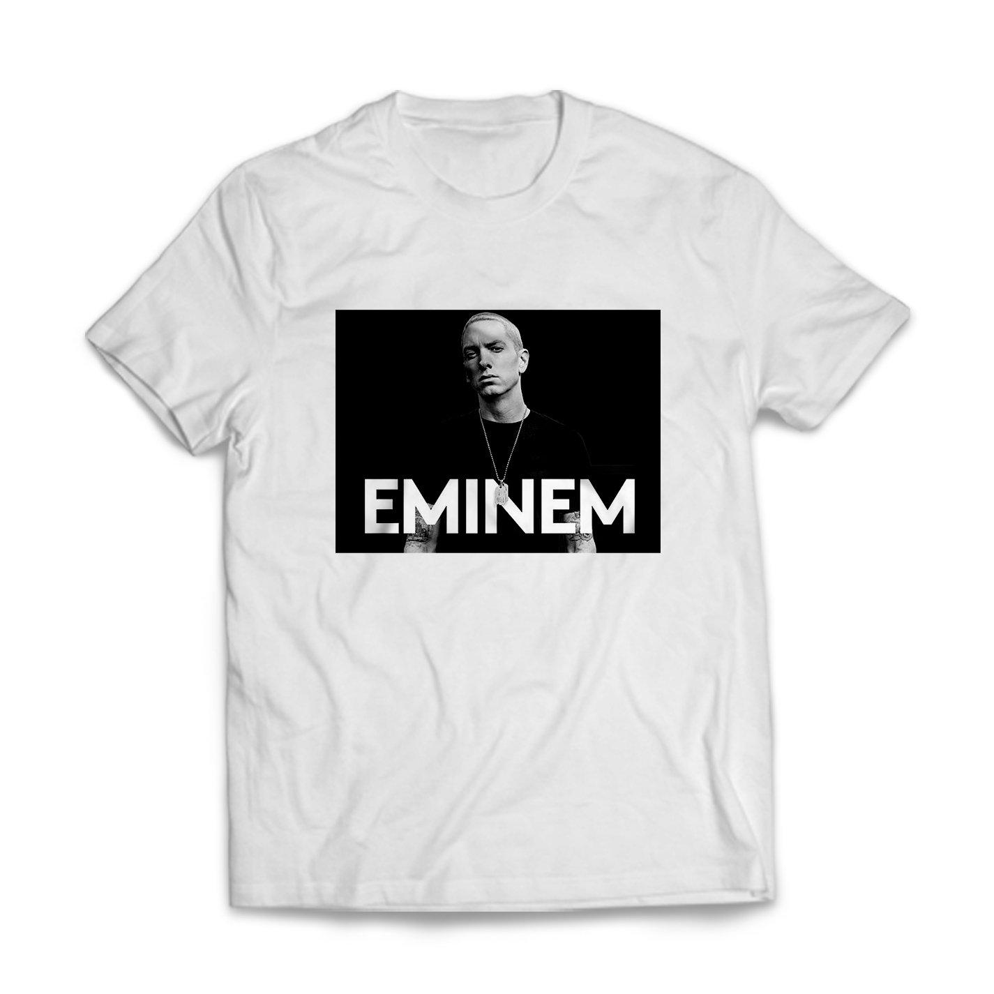 Publiassia Stamperia Eminem T- Shirt 23 Hip Hop Rap Maglietta Uomo Donna  Slim Shady 2018 Concerto Tour Maglia Idea Regalo  Amazon.it  Abbigliamento 56da7947ee2f