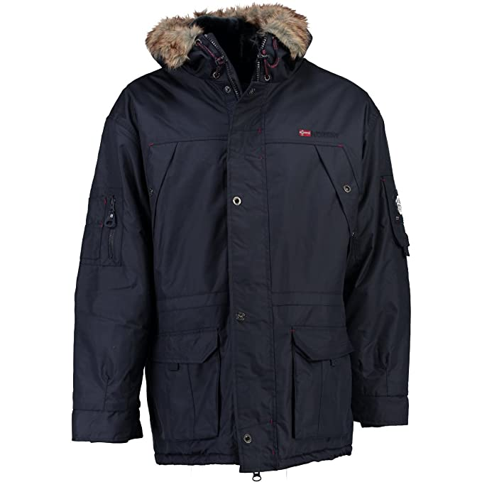 Geographical Norway - Chaqueta - Parka - para Hombre Azul Oscuro M