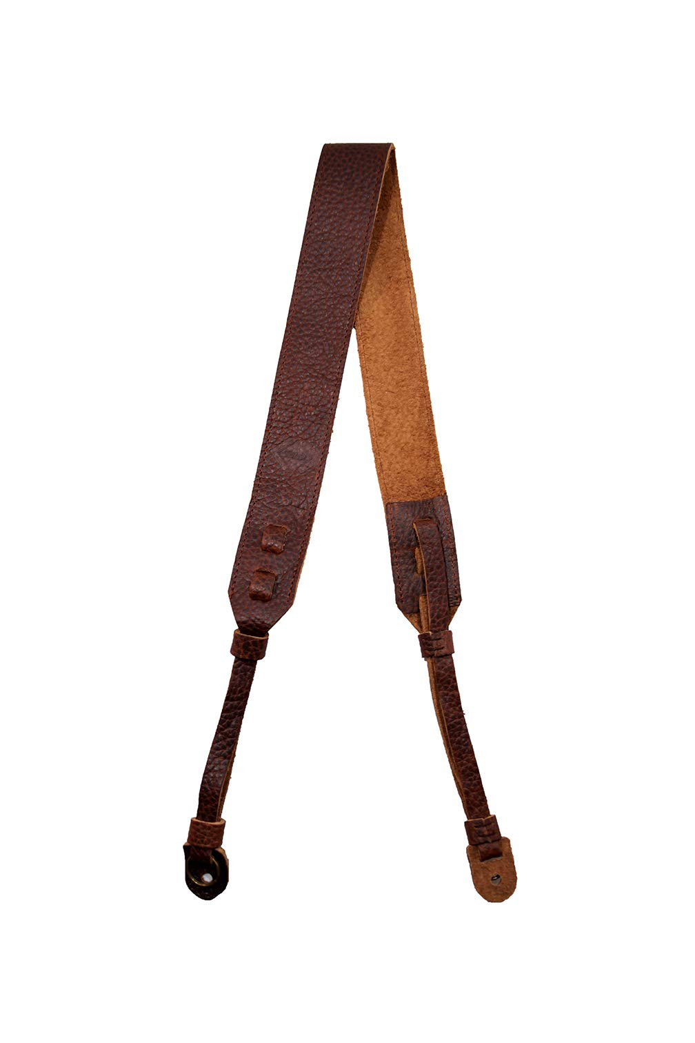 TETHER's Brown Leather Camera Strap for DSLR or SLR Camera, DSLR Camera Strap. Camera Accessories. Canon Camera Strap. Nikon Camera Strap (Brown) by TETHER