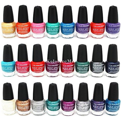 L.A. Colors * Color Craze Nail Polish 24pc (Set #2 in 24