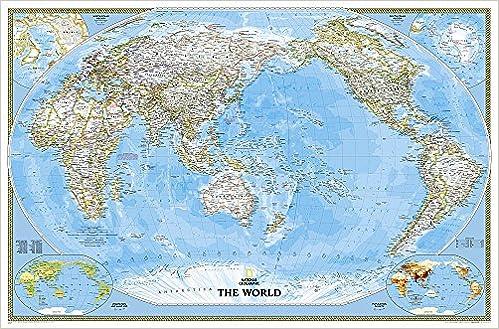 National Geographic Antike Weltkarte groß