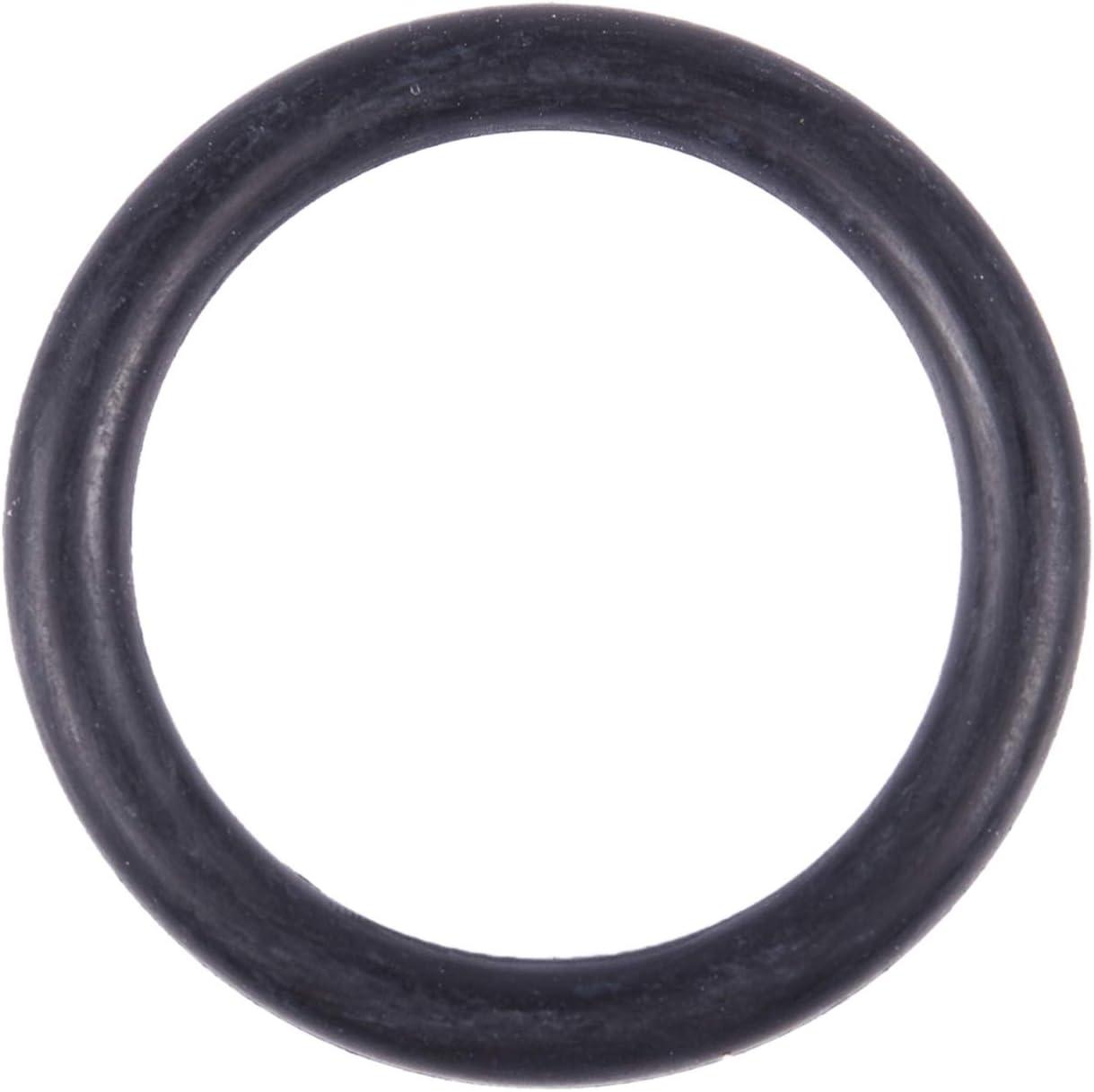 RETYLY 10 Stueck schwarz Nitrilkautschuk O-Ringe NBR Seal Tuellen 48 mm x 58 mm x 5 mm