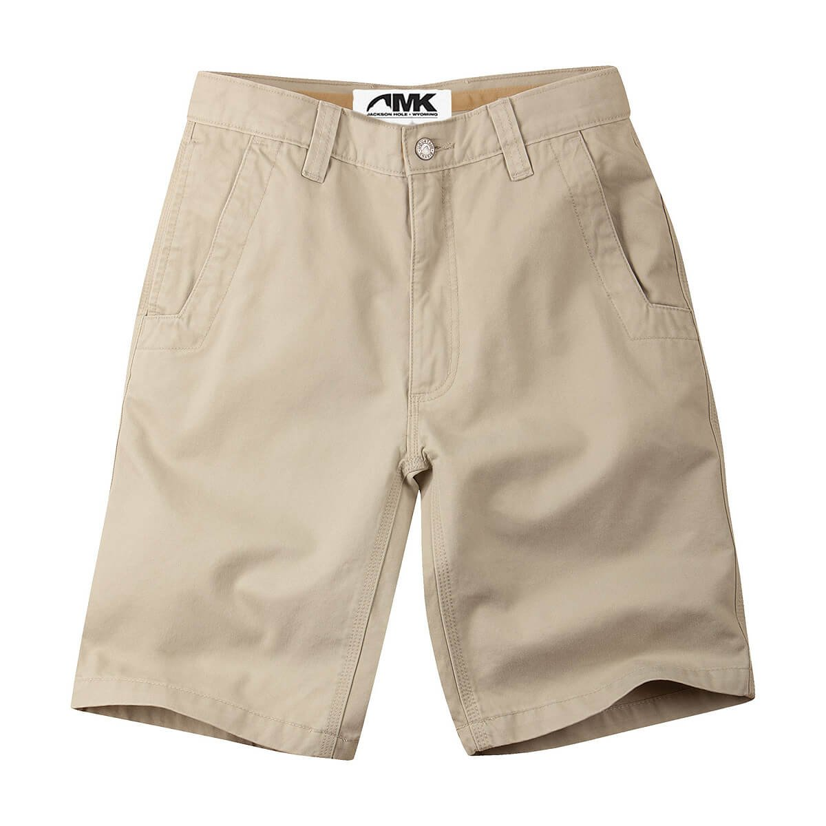 Mountain Khakis Men's Teton Twill Short Relaxed Fit, Sand, 38 W 8in