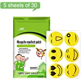 Mosquito Repellent Patches, Natural Non Toxic Bug Repellent Sticker For Kids Adults Keeps Insects Bugs Far Away For Home Camping Fishing Travel