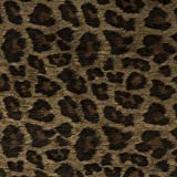 leopard upholstery fabric - Morgan Fabrics Panthera Toffee Leopard Faux Animal Printed Performance Velvet Upholstery By the Yard