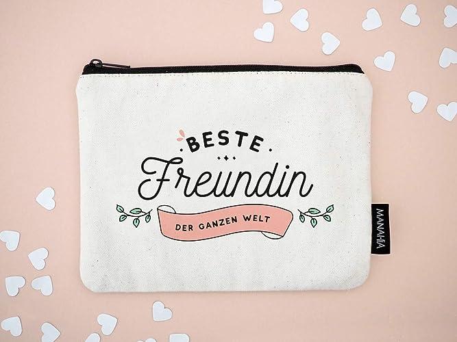 kosmetiktasche fur freundin beste freundin der welt freundschaft freundin beste freundin geschenk