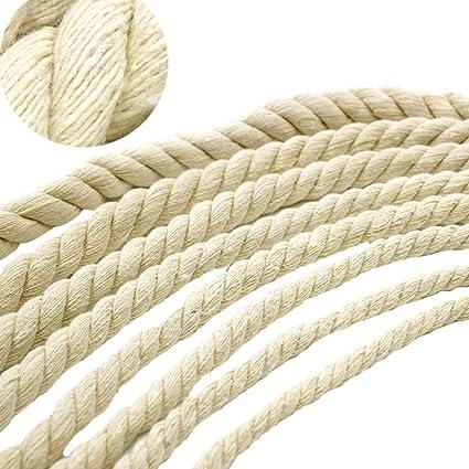 Amazon Com Macrame 8mm Rope Cotton Cord 45 Metres 49 Yd Macrame