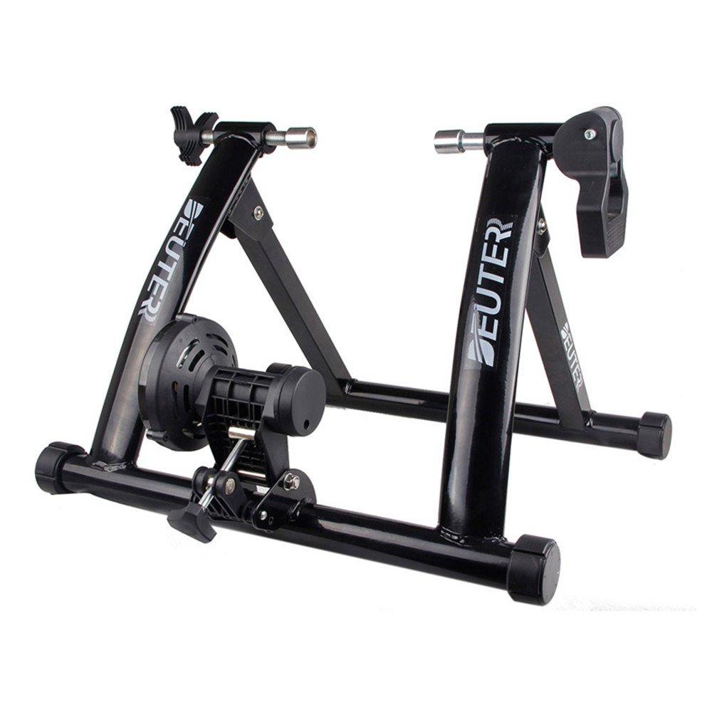 DEUTER (ドイター) 室内用 バイクトレーナー ポータブル エクササイズ 自転車用 磁気スタンド (black)   B075M73ZZ8