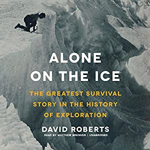 Alone on the Ice Audiobook
