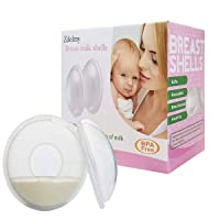 Breast Shells, Milk Saver, Nursing Cups, Nursing Moms to Ease Nipple Pain, BPA-Free...