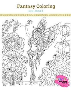 Fantasy Snowflakes Coloring Book: J. S. Burke: 9780996042550: Amazon ...