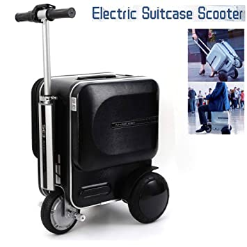Airwheel 29.3L 250W Electric Suitcase Scooter, Portable Suitcase Scooter  Smart Riding Scooter Suitcase Luggage Mini Travel Carry Luggage Storage  Case