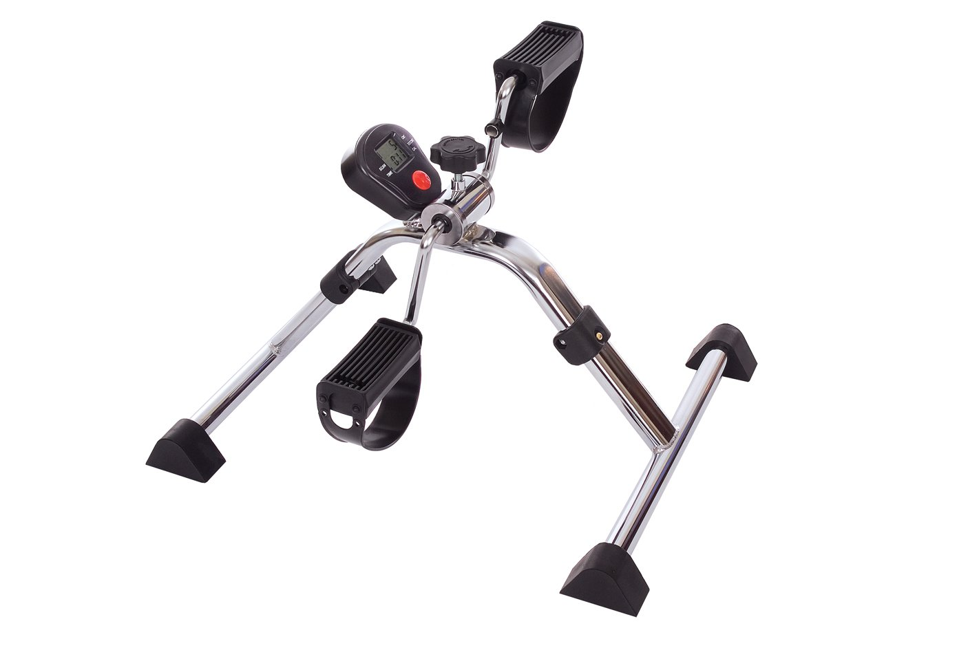 Essential Medical Supply Folding Pedal Exerciser with Meter