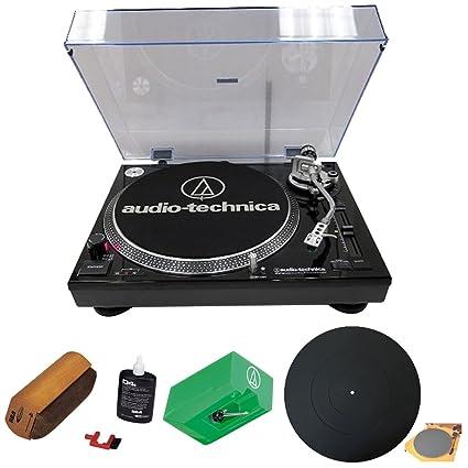 Audio-Technica AT-LP120-USB Professional Turntable Phono Cartridge /& RCA D4+