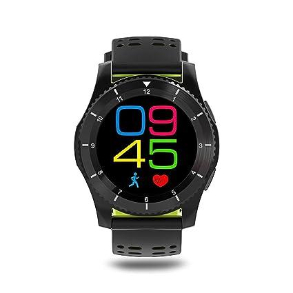 Amazon.com: No.1 GS8 Smartwatch Bluetooth 4.0 SIM Call Sport ...