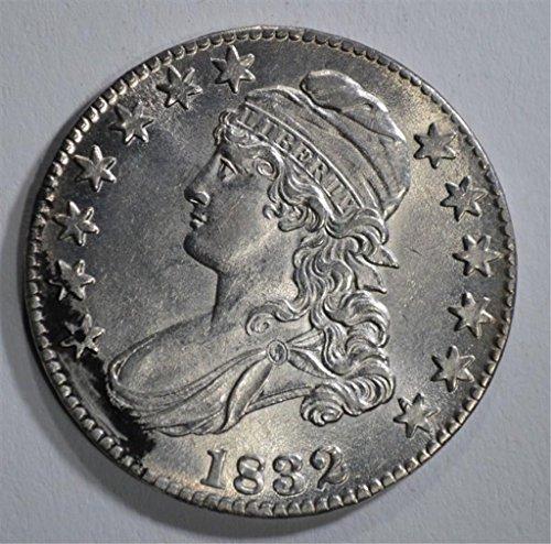 1832 BUST Half Dollar About Uncirculated - 1832 Half Dollar