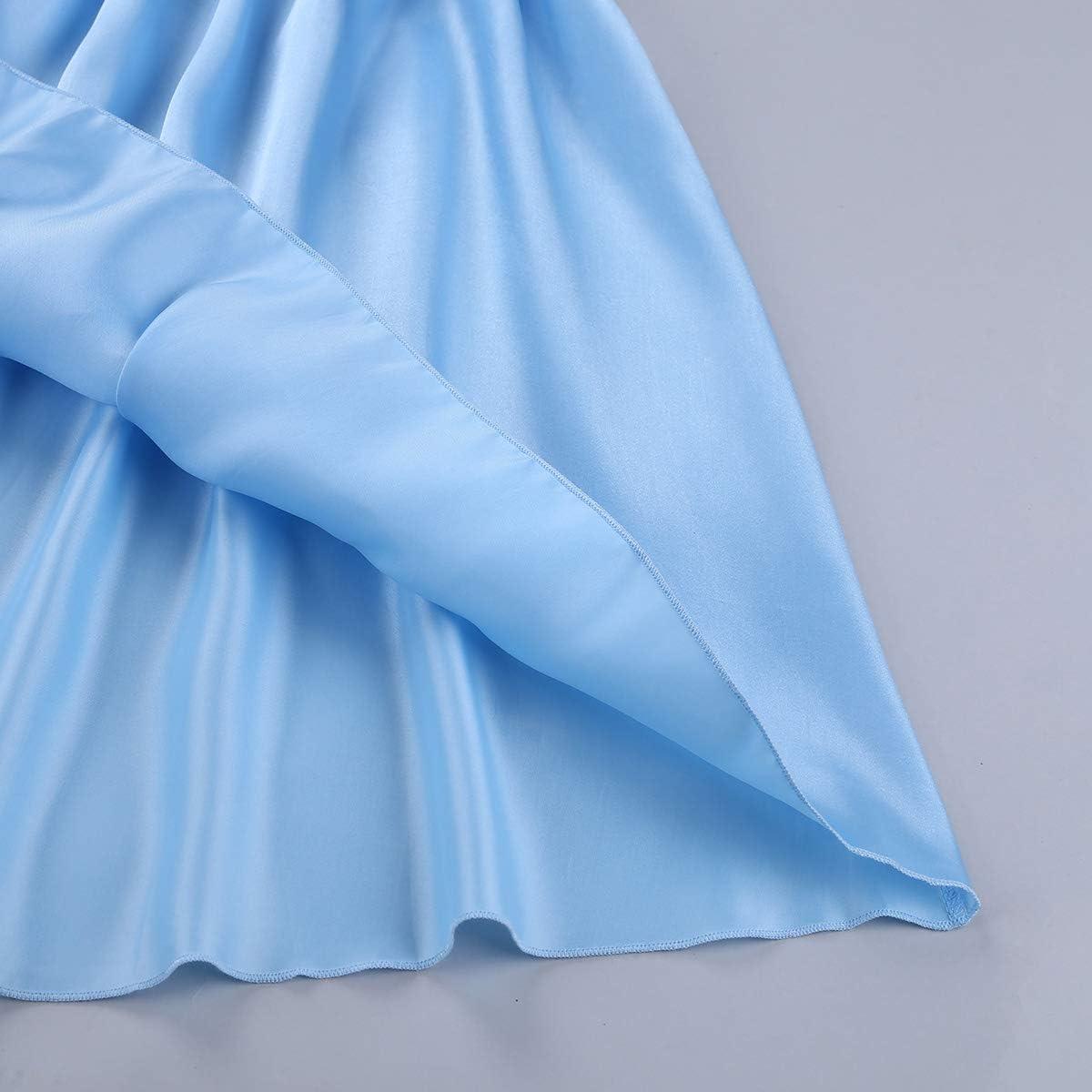 Men/'s Sissy Shiny Satin Frilly Crossdressing Dress Lingerie Nightwear Underwear