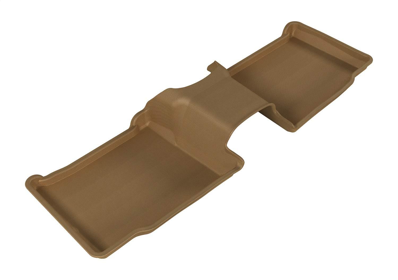 Kagu Rubber 3D MAXpider Complete Set Custom Fit All-Weather Floor Mat for Select Ford Explorer Models Black